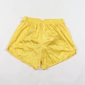 Vintage 90s Mens Silky Nylon Running Shorts Medium